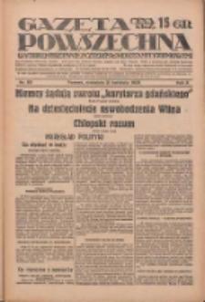 Gazeta Powszechna: wychodzi codziennie z czterema dodatkami tygodniowemi 1929.04.21 R.10 Nr93