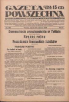 Gazeta Powszechna: wychodzi codziennie z czterema dodatkami tygodniowemi 1929.06.18 R.10 Nr138