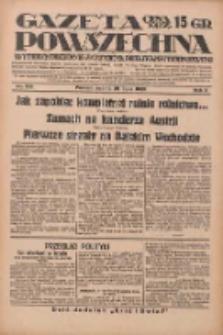 Gazeta Powszechna: wychodzi codziennie z czterema dodatkami tygodniowemi 1929.07.20 R.10 Nr165