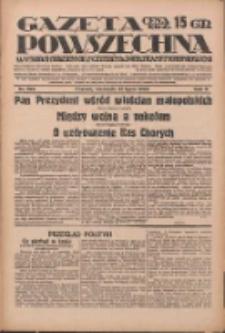 Gazeta Powszechna: wychodzi codziennie z czterema dodatkami tygodniowemi 1929.07.21 R.10 Nr166