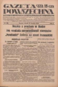 Gazeta Powszechna: wychodzi codziennie z czterema dodatkami tygodniowemi 1929.08.13 R.10 Nr185