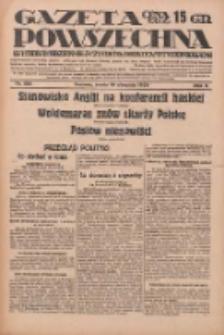 Gazeta Powszechna: wychodzi codziennie z czterema dodatkami tygodniowemi 1929.08.14 R.10 Nr186