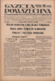 Gazeta Powszechna: wychodzi codziennie z czterema dodatkami tygodniowemi 1929.08.18 R.10 Nr189