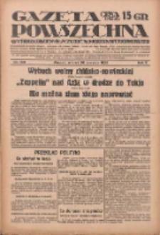 Gazeta Powszechna: wychodzi codziennie z czterema dodatkami tygodniowemi 1929.08.20 R.10 Nr190