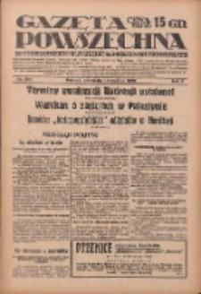 Gazeta Powszechna: wychodzi codziennie z czterema dodatkami tygodniowemi 1929.09.01 R.10 Nr201