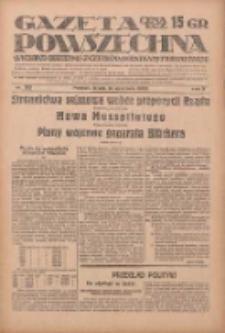 Gazeta Powszechna: wychodzi codziennie z czterema dodatkami tygodniowemi 1929.09.18 R.10 Nr215