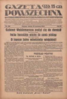 Gazeta Powszechna: wychodzi codziennie z czterema dodatkami tygodniowemi 1929.09.21 R.10 Nr218