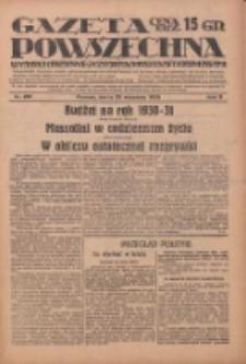 Gazeta Powszechna: wychodzi codziennie z czterema dodatkami tygodniowemi 1929.09.25 R.10 Nr221