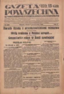 Gazeta Powszechna: wychodzi codziennie z czterema dodatkami tygodniowemi 1929.10.01 R.10 Nr226