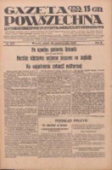 Gazeta Powszechna: wychodzi codziennie z czterema dodatkami tygodniowemi 1929.10.25 R.10 Nr247