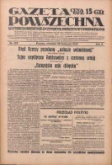 Gazeta Powszechna: wychodzi codziennie z czterema dodatkami tygodniowemi 1929.11.28 R.10 Nr275