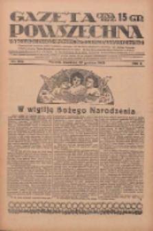 Gazeta Powszechna: wychodzi codziennie z czterema dodatkami tygodniowemi 1929.12.22 R.10 Nr296