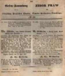 Gesetz-Sammlung für die Königlichen Preussischen Staaten. 1861.06.15 No20