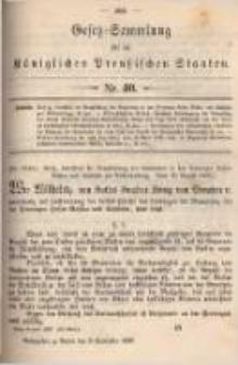 Gesetz-Sammlung für die Königlichen Preussischen Staaten. 1897.09.08 No40