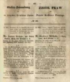 Gesetz-Sammlung für die Königlichen Preussischen Staaten. 1850.03.30 No20