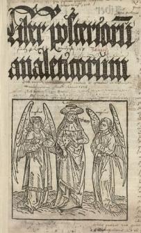 Quaestiones super Analytica posteriora Aristotelis, cum textu et cum titulis quaestionum secundum Ioannem Versorem