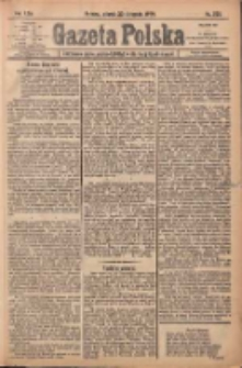 Gazeta Polska: codzienne pismo polsko-katolickie dla wszystkich stanów 1920.11.30 R.24 Nr276