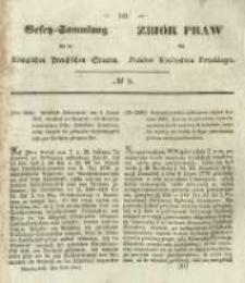 Gesetz-Sammlung für die Königlichen Preussischen Staaten. 1845 No8