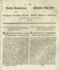 Gesetz-Sammlung für die Königlichen Preussischen Staaten. 1845 No11