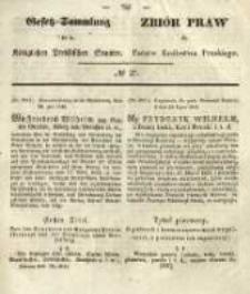 Gesetz-Sammlung für die Königlichen Preussischen Staaten. 1845 No27