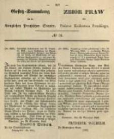 Gesetz-Sammlung für die Königlichen Preussischen Staaten. 1845 No31