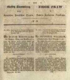 Gesetz-Sammlung für die Königlichen Preussischen Staaten. 1845 No39