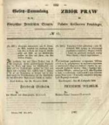 Gesetz-Sammlung für die Königlichen Preussischen Staaten. 1845 No41
