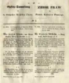 Gesetz-Sammlung für die Königlichen Preussischen Staaten. 1849.01.11 No2