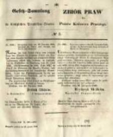 Gesetz-Sammlung für die Königlichen Preussischen Staaten. 1849.01.13 No3