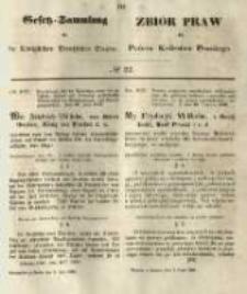 Gesetz-Sammlung für die Königlichen Preussischen Staaten. 1849.07.02 No22