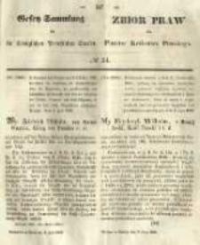 Gesetz-Sammlung für die Königlichen Preussischen Staaten. 1849.07.06 No24