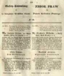 Gesetz-Sammlung für die Königlichen Preussischen Staaten. 1849.07.24 No29