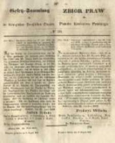 Gesetz-Sammlung für die Königlichen Preussischen Staaten. 1849.08.09 No30