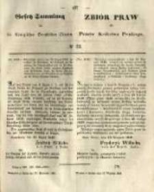 Gesetz-Sammlung für die Königlichen Preussischen Staaten. 1849.09.17 No33