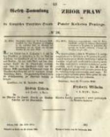 Gesetz-Sammlung für die Königlichen Preussischen Staaten. 1849.10.20 No36