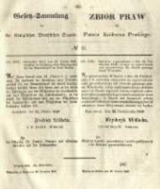 Gesetz-Sammlung für die Königlichen Preussischen Staaten. 1849.12.10 No41