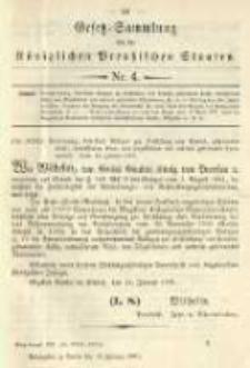 Gesetz-Sammlung für die Königlichen Preussischen Staaten. 1901.02.13 No4
