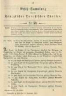 Gesetz-Sammlung für die Königlichen Preussischen Staaten. 1901.09.13 No29