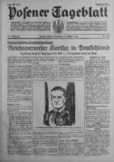 Posener Tageblatt 1938.08.23 Jg.77 Nr190