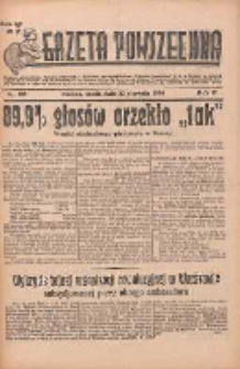 Gazeta Powszechna 1934.08.22 R.17 Nr189