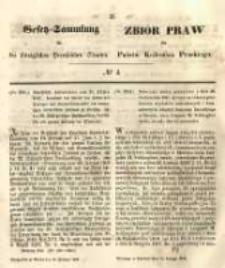 Gesetz-Sammlung für die Königlichen Preussischen Staaten. 1848.02.10 No4