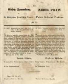 Gesetz-Sammlung für die Königlichen Preussischen Staaten. 1848.05.08 No21