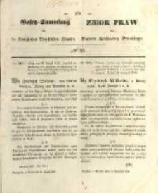 Gesetz-Sammlung für die Königlichen Preussischen Staaten. 1848.08.14 No33