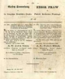 Gesetz-Sammlung für die Königlichen Preussischen Staaten. 1848.10.08 No44