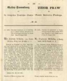 Gesetz-Sammlung für die Königlichen Preussischen Staaten. 1848.10.12 No45