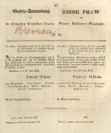 Gesetz-Sammlung für die Königlichen Preussischen Staaten. 1848.11.03 No50