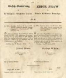 Gesetz-Sammlung für die Königlichen Preussischen Staaten. 1848.12.31 No61