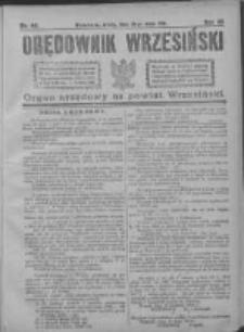 Orędownik Wrzesiński 1921.05.18 R.3 Nr40