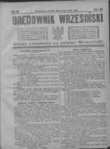Orędownik Wrzesiński 1921.05.21 R.3 Nr41