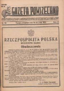 Gazeta Powszechna 1933.09.14 R.15 Nr211